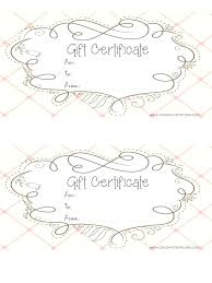 How To Make A Gift Certificate Create A Gift Card Template