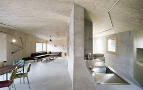 interior industrial design ideas home. Great Modern Minimalist Industrial Interior Design Ideas For Massive Concrete Home Open Living Space With Simple Decoration Wall Natural T