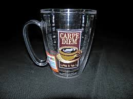There are no comments or reviews for carpe diem coffee shop be the first, we are interested in your opinion. Tervis Mug 15 Oz Carpe Diem Coffee Tea Co