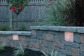 retaining wall lights