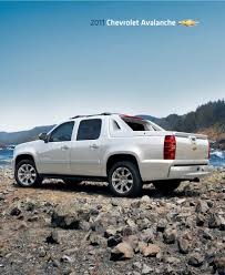 Avalanche chevy avalanche 2011 : GM 2011 Chevrolet Avalanche Sales Brochure