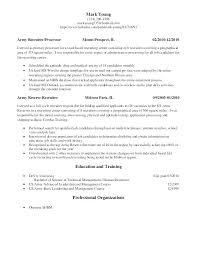 Army Resume Military Recruiter Sample Resume Podarki Co