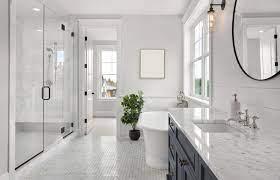small half bathroom look bigger