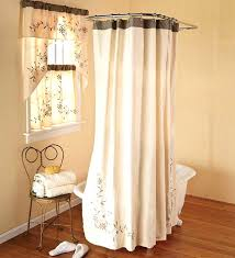 shower curtains with matching window curtains innovative bathroom