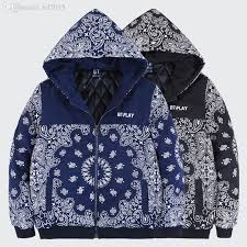 Patagonia Patterns Mesmerizing Best Wholesale Mens Paisley Bandana Hoodie Zipper Up Cotton Lined