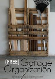 pallet stores furniture. does your garage need some organization use a free pallet to help you get stores furniture