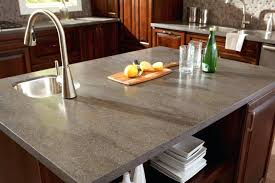 corian sorrel countertop and in lava rock to create remarkable kitchen countertop ideas with oak cabinets 634
