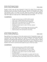 Safety Manager Resume Safety Director Resume Brian Coulston 2016