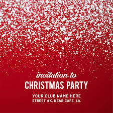 Party Invitation Background Image Merry Christmas Party Invitation Background Vector Free Download
