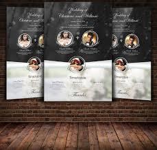 Wedding Flyer Template ~ Flyer Templates ~ Creative Market