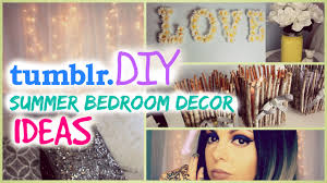 diy tumblr room decor for summer cute girls room decor ideas