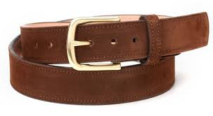 snuff repello suede belt by rancourt co