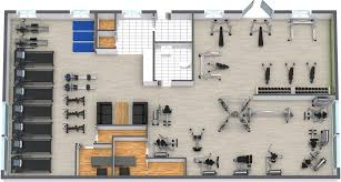 gym floor plan