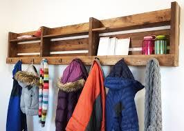 Coat Rack Part 100 DIYs For Small Spaces Diy Coat Rack DIY Ideas And Coat Racks 98