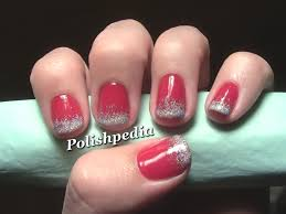 Christmas Nail Designs | Ombre Christmas Nail Art | Polishpedia ...