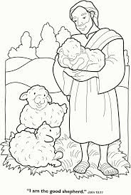 The nativity was always my favorite part of christmas. Good Shepherd Coloring Pages Free Coloring Home