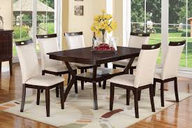 espresso dining table and chairs. poundex f2290 espresso dining table and chairs n