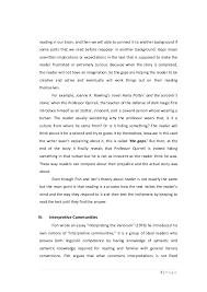 makalah reader response 3 reading in