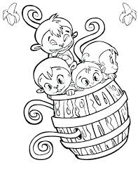 Monkey Coloring Pages Free Batman Coloring Pages Good Monkey