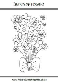 It is extremely colorful, warm, and positive. Flowers Colouring Sheets Kids Puzzles And Games