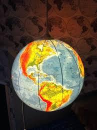 diy globe light world globe creative project hanging pendant light diy glass globe light