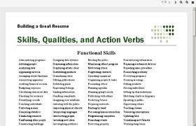 Resume Power Words] Power Resumes Power Resume Resume Action Words inside Resume  Power Words And