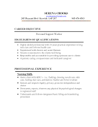 Personal Care Assistant Resume Template Fresh Psw Resume Sample