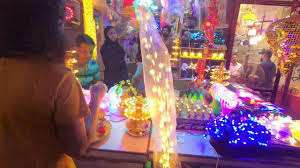 Bhagirath Palace Diwali Lights Diwali Shopping At Bhagirath Palace In Chandni Chowk Lights Lamps In Lowest Price Purvi Shukla