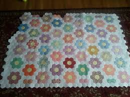 hexi quilt patterns | reply with quote | Hexi Quilt Ideas ... & After months and months working on my grandmothers flower garden quilt, I  am getting close to finishing piecing the top. Adamdwight.com