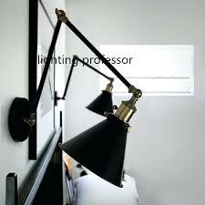 lovely swing arm lighting retro two swing arm wall lamp for bedroom bedside adjule wall swing