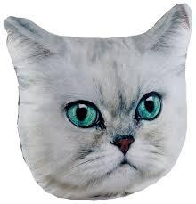 Купить PLW-Face Кошка Шиншилла, <b>Подушка декоративная</b> ...