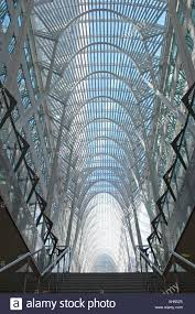 Curved Architecture Curved Elegant Architectural Atrium Canopy Stock Photo Royalty