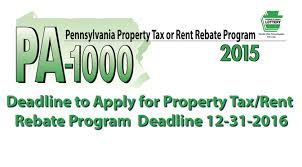 Rent Rebate Form Extraordinary A Message From Rep Ryan Mackenzie Deadline Approaching To Apply