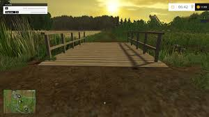 Wooden Bridge Game Impressive Small Wooden Bridge V 3232 Mod Farming Simulator 232325 325 Mod