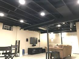 lighting a basement. Recessed Lighting Basement Ceiling And Best 25 Exposed Ideas On A L