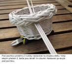 Плетение ручек корзин из газетных трубочек