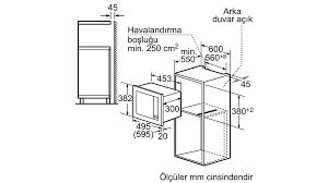 PROFILO - MDA1050 - Ankastre Mikrodalga