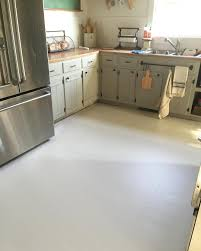Temporary Kitchen Flooring How To Paint Old Linoleum Kitchen Floors Pull Up The Floor And