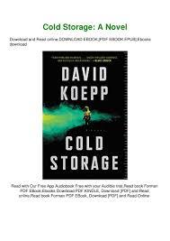Cold Storage Design Pdf Pdf Download Read Cold Storage A Novel Ebook