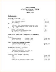 8 Sample Of Curriculum Vitae For Job Application Pdf Resume Template