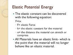 2 elastic potential