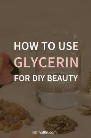 how to use glycerin for diy beauty