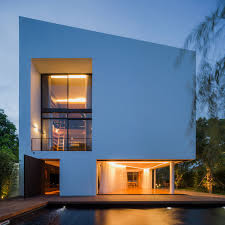 simple modern house. Simple Modern House Architecture Australia Architectural Excerpt White With Integrated Angles And Corners Design Milk Designer