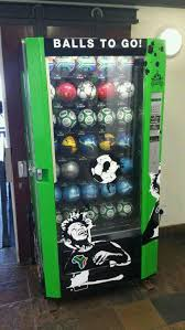 Ball Vending Machine Extraordinary Soccer Ball Vending Machine In South Africa Imgur