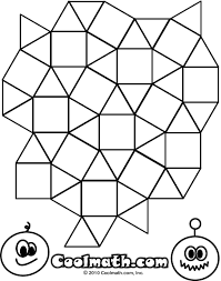 Small Picture Geometric Printable Coloring Pages Coloring Home