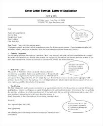 Professional Cover Letter Format Sample Collection Of Solutions Free