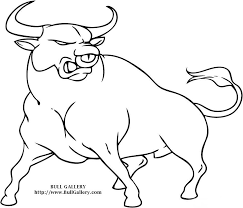Small Picture Bull Coloring Page dresslikeabossco