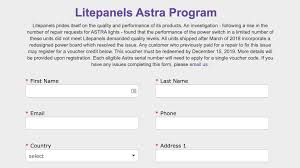 Astra Lighting Limited Litepanels Astra Extended Repair Program For Astra Power