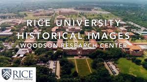 rice university campus aerial. Modren University Rice University Historical Images And Campus Aerial M