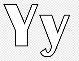 At the begining you give to them usual coloring pages. Letter English Alphabet Y Coloring Book Y Letter Angle White Png Pngegg